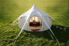 Glamping tents & tipis