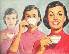 Vintage Ad Liptons Tea 1950s