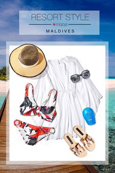 Ready for some rest and relaxation? Get everything you need for a sun-soaked hol… – Christmas Fashion Trends Beach Vacation Outfits, Cruise Outfits, Vacation Packing, Vacation Resorts, Vacation Dresses, Hawaii Outfits, Cruise Wear, Disney Cruise, Vacations