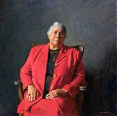 Robert Hannaford, Lowitja O'Donoghue An aboriginal lady of dignity and strength. Known to me as a child as Aunty Australian Painters, Australian Artists, Naidoc Week, Art Therapy Activities, Virtual Art, Photographs Of People, National Portrait Gallery, Healthy People 2020 Goals, Modern Artists