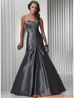 robe de soirée de cocktail sans bretelle avec cristal de Mulhouse