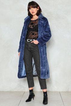 Fur-Tune Teller Faux Fur Coat
