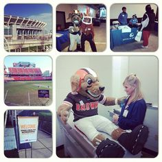 Cleveland Browns Stadiums Hosted a Free Family Health Screening.