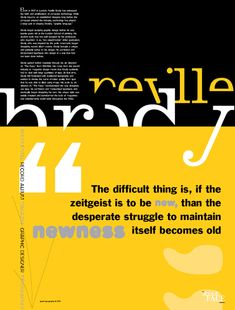 Essay about yellow journalism a push push about journalism a yellow Essay. Its hard to do a research paper on IKEA when you cant find any information on it The Face Magazine, Neville Brody, Visual Hierarchy, Yearbook Design, Timeline Design, Magazine Spreads, Typography Layout, Poster Layout, Graphic Design