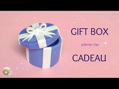 [Stop Motion] Easy Gift Box Tutorial / Tuto Facile Cadeau en Fimo - YouTube