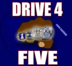 New York Giants Drive for 5