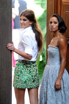 SKIRT <3 <3 (Dolce, Gabbana & Bianca Brandolini y Bianca Balti)