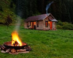 Luxury cabins by Telluride.  Dunton Hot Springs.  #1 all inclusive in the USA, #6 in the world.