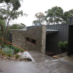 True Blue Roofing Geelong specializes in metal wall cladding which can quickly transform any wall. They are also experts in all aspects of roofing. Roof Cladding, Cladding Design, Exterior Wall Cladding, House Cladding, Cladding Ideas, Frank Lloyd Wright Style, Blue Roof, Metal Roof, Blue Walls