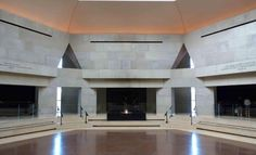 Remembrance Hall in the U S Holocaust Museum, Washington DC