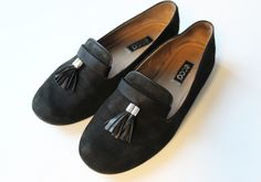 Plan B anna evers DIY Tassel slipper black
