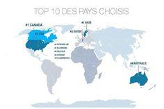 L'Amérique du Nord arrive en tête des destinations ©qapa.fr
