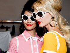 The bright, breezy swinging sixties are alive and well ... in the Moschino Spring 2013 Collection!