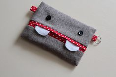 maker*land: How to make a monster tissue pouch.