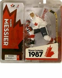 McFarlane Toys NHL Sports Picks Team Canada Action Figure Mark Messier by McFarlane Toys. $10.49