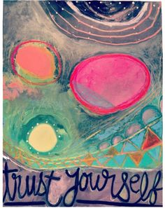 trust ~ new painting posted