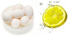 Lemon Egg White Face Mask Learn how to lighten skin naturally here meladermpigm Homemade Facials For Acne, Homemade Peel Off Mask, Oily Face, Oily Skin, Face Face, White Face Mask, Shrink Pores, Lighten Skin, Prevent Wrinkles