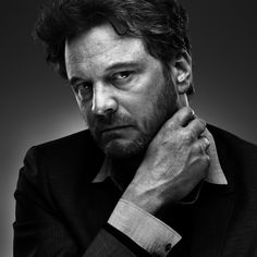 Colin Firth (1960) - English film, television, and theatre actor. Photo by Howard Schatz