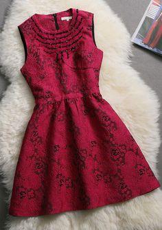 #514 Elegant Beaded Sleeveless Tutu Dress