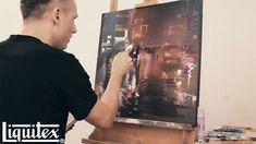 Paint a mesmerizing cityscape with Dan Kitchener | Liquitex