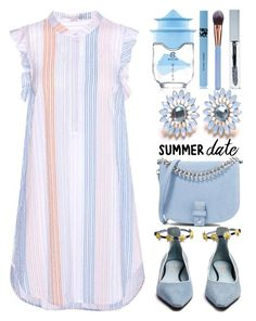 """Edna"" by lolas-polyfashion ❤ liked on Polyvore featuring STELLA McCARTNEY, Fabrizio Viti, Little Liffner, COOLA Suncare, Avon, Luxie, polyvoreeditorial and summerdatenight"