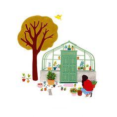 <p>Carte postale Fille au jardin, délicat dessin, trait raffiné et belles couleurs pour ce dessin crée par Marie pour Oxmo Lola. Pour décorer sa chambre ou envoyer à ses amis. On aime cette ambiance urban jungle colorée et poétique !</p> <p><em><em><br /></em></em></p>