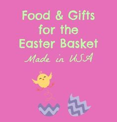 13 best made in usa gift guides images on pinterest christmas food and gifts for the easter basket made in usa negle Image collections
