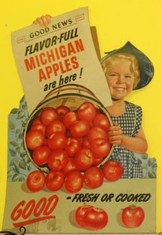 #3 Something that shows how an Autumn day makes you feel: Like a happy young girl knowing that the Michigan apples are going to be in which also means apple cider, doughnuts and cider mills!