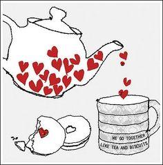 Heart tea