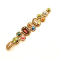 Swarovski Stone Bracelet FREE SHIPPING Luxury by MariYunJewelry