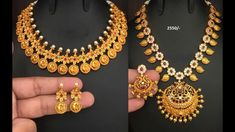 "<font color=""red"">Video : </font>latest one gram gold jewellery with price. Large collection of one gram gold necklace botu mala log haaram sets with price."