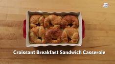 Tomato Zucchini Pie   Just A Pinch Recipes Cannoli, Cobbler, Croissant Breakfast Sandwich, Breakfast Sandwiches, Dessert Aux Fruits, Just A Pinch, Pinch Recipe, The Fresh, Breakfast Casserole