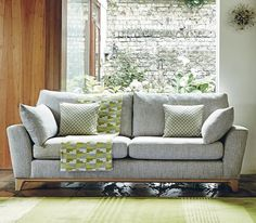 The novara sofa is perfect for relaxing on or for entertaining, with deep cushions and plenty of room to seat three with ease. It is beautifully crafted, with clean and contemporary lines, and gently outward turning arms. The tapered, shaped pale oak legs are in the ercol signature style. . Novara Sofa available from £999 at participating ercol stockists. Offer ends 28th November 2017. . #ercol #novara #sofa #contemporary #luxury #handcrafted #furniture #dining #living #bedroom #home #office