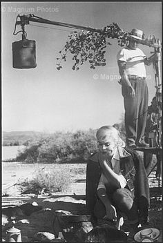 """Marilyn on the set of """"The Misfits"""", 1960"""