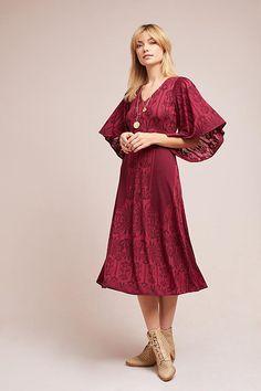 0df95d8c5d7 Isolde Bell-Sleeved Dress - Anthropologie Bell Sleeve Dress