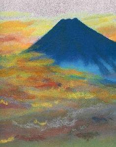 Chigirie  Japanese Paper Painting