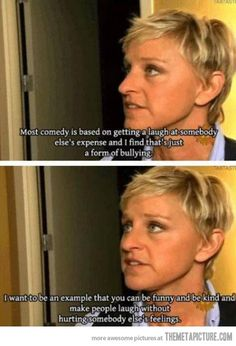 This is why I love Ellen.