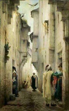 Pour toute voie, Il s'agit symboliquement de sa propre voie, de son parcours... - ©Guillaume Charles Brun - 1825-1908
