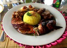 Meaty nasi campur at Baliwood