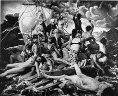 Joel Peter Witkin, The Raft of G.W. Bush, 2006