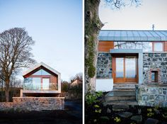 Something Old, Something New: Stone Barn Gets a New Heart. McGarry-Moon architects