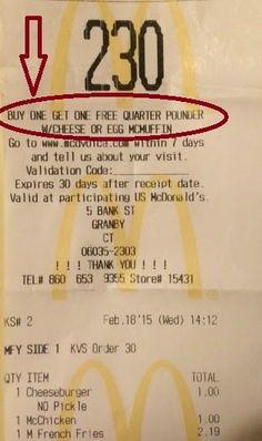 USA billig aber gut leben: McDonalds Sag deine Meinung und lass dich belohnen...