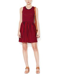 Martha Jersey Striped Dress by French Connection on sale now on #Gilt. #fashion #style