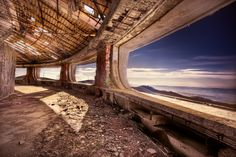 Photography, Buzludza, decay, building, view