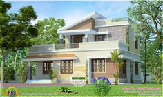 Feet Small Two Storied House Kerala Home Design And Floor Plans