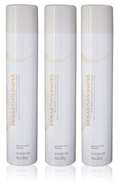 Sebastian Shaper Hairspray 3 Bottles (10.6oz each) *** See this awesome image  : Hair Care Styling Products