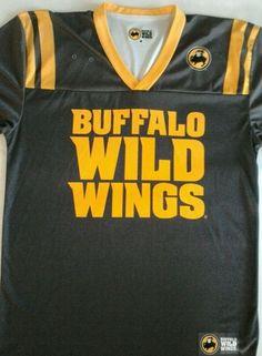 Buffalo Wild Wings Football Jersey Uniform 82 Adult Medium Gray Yellow Gold #BuffaloWildWings Jersey Uniform, Buffalo Wild Wings, Football Jerseys, Grey Yellow, Medium, Fan, Friends, Sports, Gold