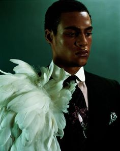 """a-state-of-bliss: """" ′Sir' by Mario Testino, London 2003 """""""