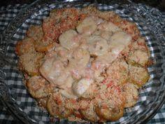 6 Jilós  - Cebola  - Alho  - Tomate  - Manteiga  - Sal  - 1 ovo  - Queijo parmesão  -