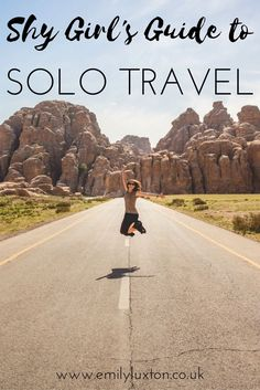 A Shy Girl's Guide to Solo Travel. Thoughts, tips, and advice on travelling alone as a shy person or with social anxiety.
